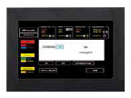 FX808461 Touchscreen-Bedienteil (uP)